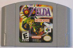Zelda Majora's Mask [Not for Resale Gray] Nintendo 64 Prices