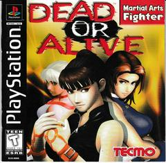 Manual - Front | Dead or Alive Playstation