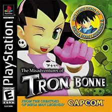 The Misadventures Of Tron Bonne - Front | The Misadventures of Tron Bonne Playstation