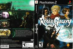 Artwork - Back, Front | Rogue Galaxy Playstation 2