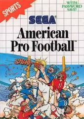 American Pro Football PAL Sega Master System Prices
