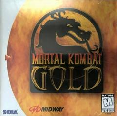 Manual - Front (Version 1) | Mortal Kombat Gold Sega Dreamcast