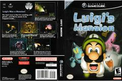 Artwork - Back, Front | Luigi's Mansion Gamecube
