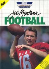 Joe Montana Football Sega Master System Prices