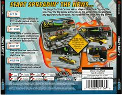 Back Of Case | Crazy Taxi 2 Sega Dreamcast