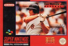Cal Ripken Jr. Baseball PAL Super Nintendo Prices