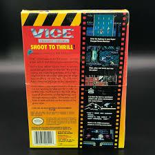 Vice Project Doom - Back | Vice Project Doom NES