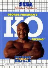 George Foreman's KO Boxing PAL Sega Master System Prices