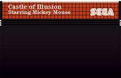 Castle Of Illusion - Cartridge   Castle of Illusion Sega Master System