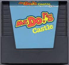 Mr. Do! Castle - Cartridge | Mr. Do!'s Castle Atari 5200