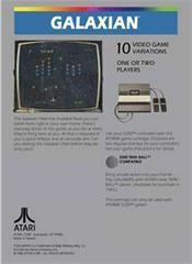 Galaxian - Back   Galaxian Atari 5200