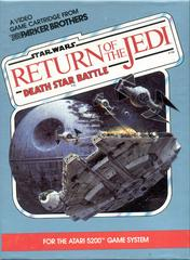 Star Wars Return Of The Jedi - Front | Star Wars: Return of the Jedi Death Star Battle Atari 5200