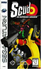 Manual - Front | Scud The Disposable Assassin Sega Saturn