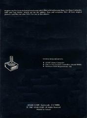 Box Back   Centipede Atari 400
