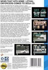 Lethal Enforcers - Back | Lethal Enforcers Sega CD