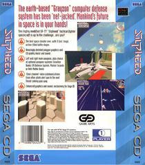 Back Of Case   Silpheed Sega CD