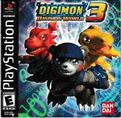 Manual - Front | Digimon World 3 Playstation