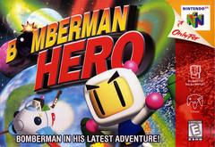 Bomberman Hero Cover Art