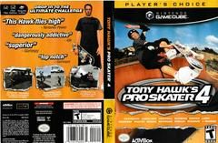 Artwork - Back, Front (Players Choice) | Tony Hawk 4 Gamecube