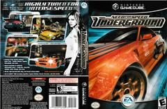 Artwork - Back, Front | Need for Speed Underground Gamecube