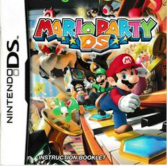Manual - Front | Mario Party DS Nintendo DS