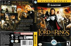 Artwork - Back, Front (Players Choice) | Lord of the Rings Return of the King Gamecube