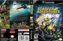 Artwork - Back, Front | Star Fox Adventures Gamecube