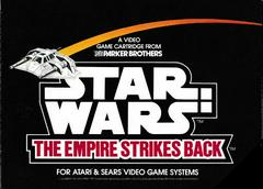 Manual - Front | Star Wars The Empire Strikes Back Atari 2600