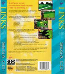 Back Of Box   Links The Challenge of Golf Sega CD