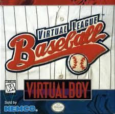 Virtual League Baseball - Front | Virtual League Baseball Virtual Boy