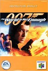 007 World Is Not Enough - Instructions | 007 World Is Not Enough Nintendo 64