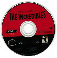 Game Disc | The Incredibles Gamecube