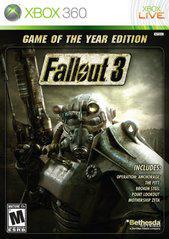 Fallout 3 [Game of the Year] Xbox 360 Prices