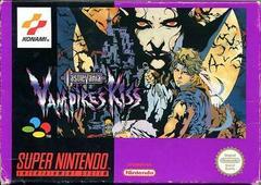 Castlevania: Vampire's Kiss PAL Super Nintendo Prices