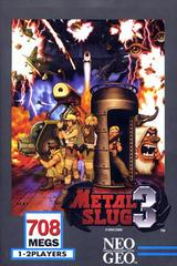 Metal Slug 3 Neo Geo Prices