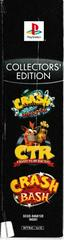 Spine Of Box/Slip Cover | Crash Bandicoot Collector's Edition Playstation