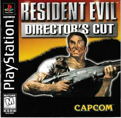 Single Disc Manual - Front | Resident Evil Director's Cut Playstation