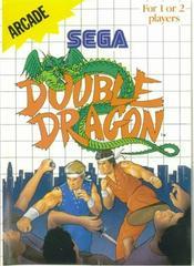 Double Dragon - Front | Double Dragon Sega Master System