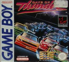 Days of Thunder PAL GameBoy Prices