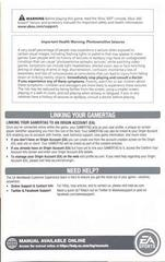 Insert 1 | NCAA Football 14 Xbox 360