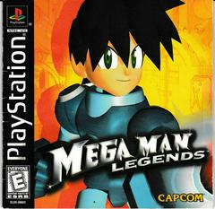 Manual - Front | Mega Man Legends Playstation