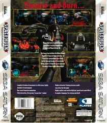Back Of Case | Space Hulk Vengeance of the Blood Angels Sega Saturn