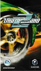 Manual - Front | Need for Speed Underground 2 Gamecube