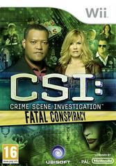 CSI: Crime Scene Investigation: Fatal Conspiracy PAL Wii Prices
