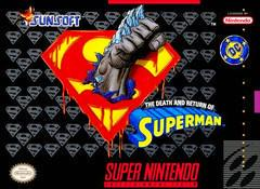The Death and Return of Superman Super Nintendo Prices