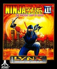 Ninja Gaiden III: Ancient Ship of Doom Atari Lynx Prices