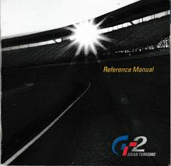 Reference Manual - Front | Gran Turismo 2 Playstation