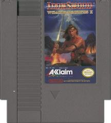 Cartridge | Iron Sword Wizards and Warriors II NES
