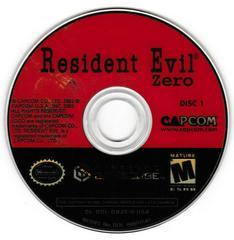 Game Disc 1 | Resident Evil Zero Gamecube