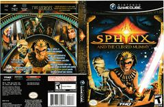 Artwork - Back, Front | Sphinx and the Cursed Mummy Gamecube